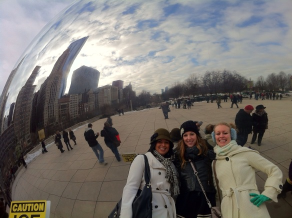 It's hard to take a bad picture in front of the Bean.
